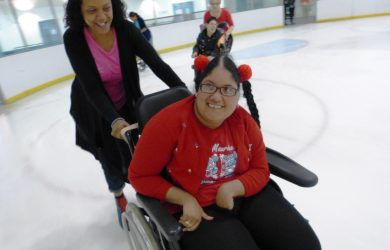 wheelchair-ice-skating